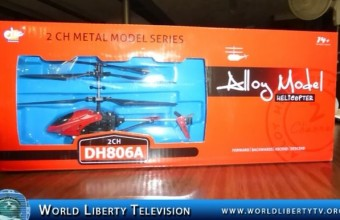 Toy Reviews in our World Liberty TV 2013