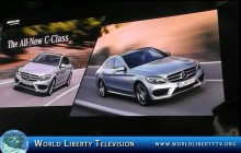 Mercedes's Benz Debuts The All New C Class at the NY International Auto Show- 2014