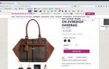 The Kipling's Always On Collection Reviews for  the Everleigh handbag and the  Elm Tote bag-2014
