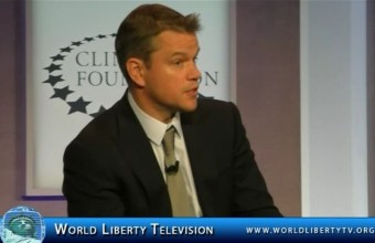 Academy Award Winner Matt Damon's Water Org at CGI-2014
