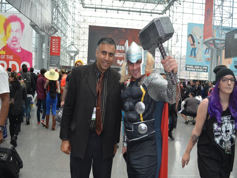 Dr.Abbey with Thor