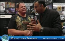 """Jerry  """"The King"""" Lawler Wrestling Champion  interview at Comic Con-2014"""