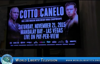 Cotto VS Canelo  interviews at NY Press Conference Aug-2015