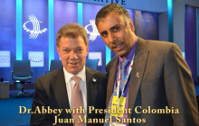 Juan Manuel Santos Calderón, President of  Colombia Speaking about Climate Change @ CGI -2015