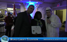 """Club Civico Cubano Honors our Executive Producer with the """"Media Executive of the Year Award"""" -2015"""
