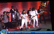 Janelle Monáe  Entertainer doing a live Performance at CGI Awards -2015