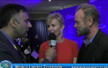 Interview with  Entertainer Sting & his Wife Trudie Styler-2015