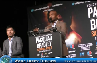 Timothy Bradley VS Manny Pacquiao  111 Fight interview @ NY Press Conf-2016