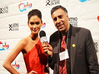Dr.Abbey Interviwing Miss Universe 2015