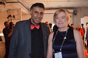 Dr.Abbey with Founder KOTA Jaana Rehnstrom,