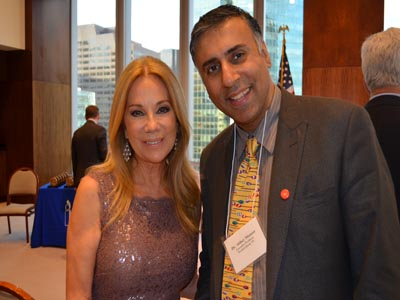Dr.Abbey with Kathie Lee Gifford