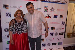Dr.Abbey with Sylvia Smith Founder Domincan Mothers Gala