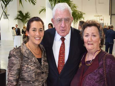 Honoree Jenny Freeman of HRCG with her Parents