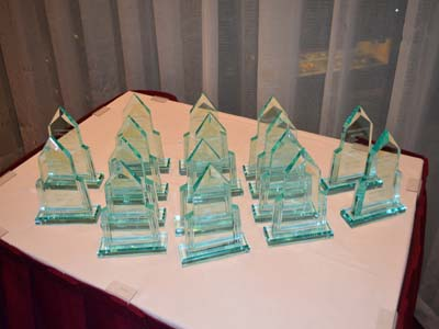 The Awards Honoree's recieved