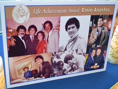 Many faces of Ernie Anastos
