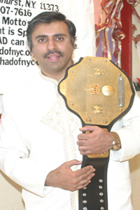 Dr.Abbey ,The Greatest Pak, Ind Fighter in the World Belt