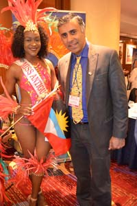 Dr.Abbey With Miss Antigua