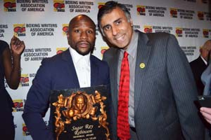 Dr.Abbey with Boxing Great Floyd Mayweather