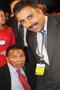 Dr.Abbey with Muhammad Ali