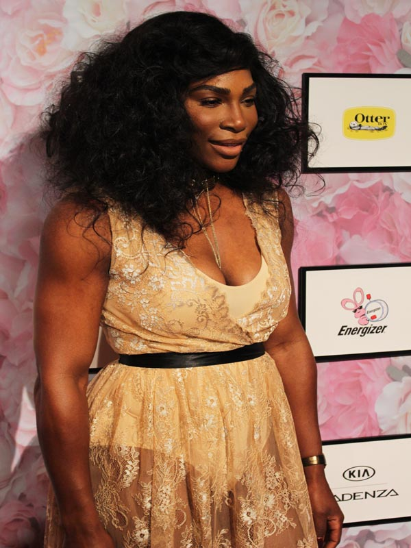 Serena Williams wearing one of her outfits