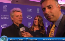 Interview with Jon Bon Jovi Rock Star  and Chairman JBJ Soul Foundation @ CGI -2016