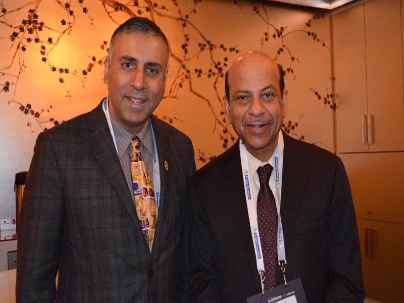 Dr Abbey with Vijay Govindarajan Strategy and Innovation Expert