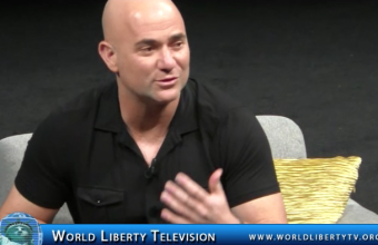 Andre Agassi Tennis great  and Philanthropist  interview at WOBI NY Forum -2016