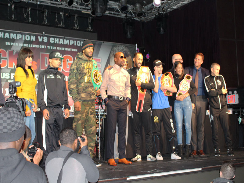 jack vs Degale Boxing NY Press Conference
