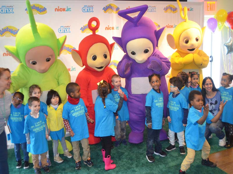 kids love teletubbies