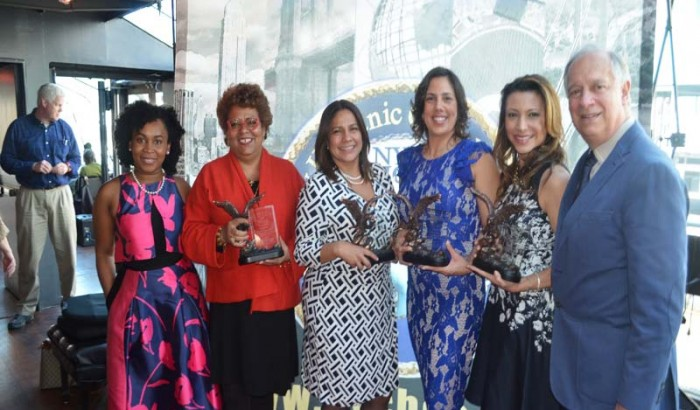 Five Leading  Hispanic  Business women  honored by the  NYC Hispanic Chamber-2017