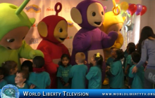 Teletubbies  Celebrates  20th Anniversary with big hugs, at  NYC Tour-2017