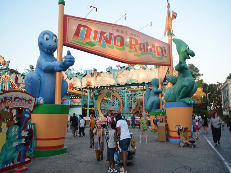 Dinosaur park at Disney