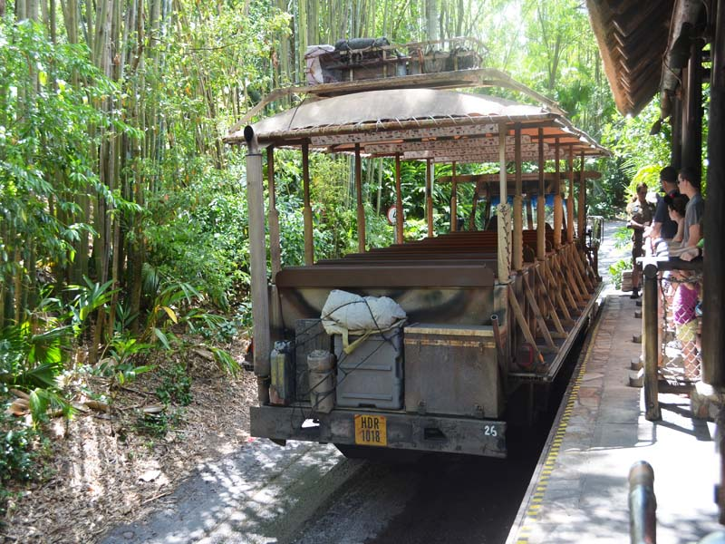Disney Safari Tour Bus