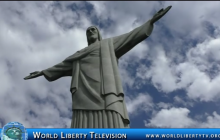 Christ the Redeemer (Cristo Redentor)  7th wonder of the World in Rio de Janeiro Brazil-2017