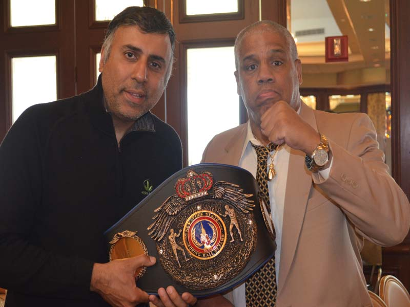 Alex ramos 4 time NY Golden Glove Champion