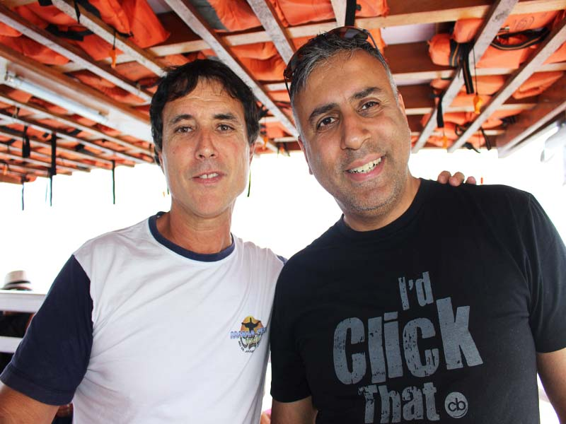 Dr.Abbey with Tour Guide Javier Terol in Rio Brazil
