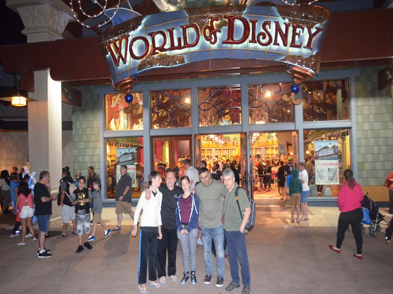 Dr.Abbey with Vlad Prof Anatoly V & Family in Orlando Florida