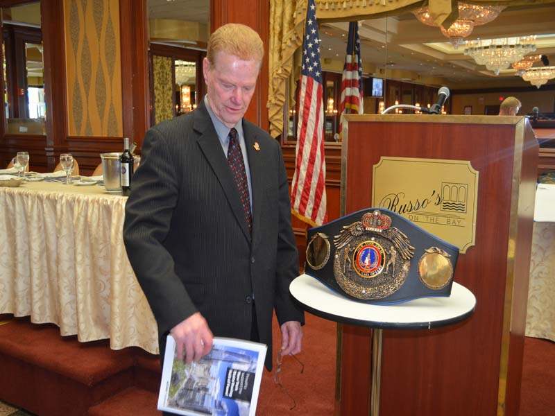 NJ Boxing Hall of fame President