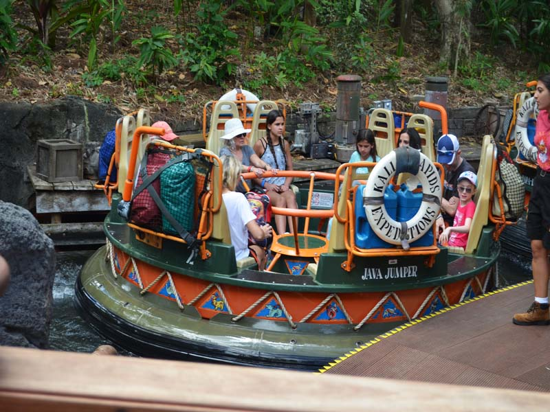 One of Many Rides at Disney's AK