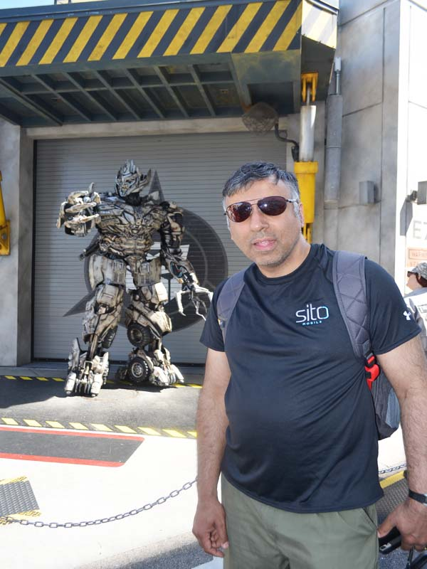 Transformers at  Universal Theme Park