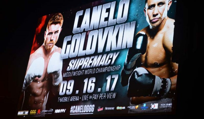 Canelo VS Golovkin Supremacy Middleweight World Championship Press Conference NY -2017