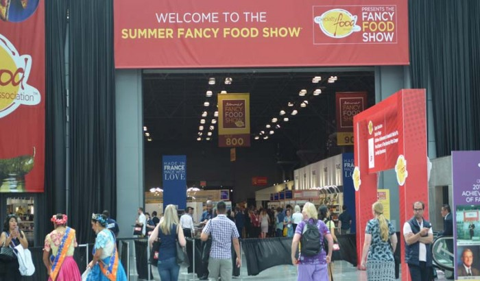 2017 Summer Fancy Food Show at New York Javit Center