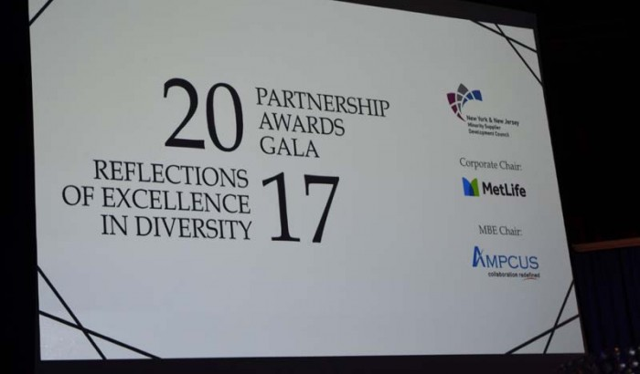 New York and New Jersey Minority Supplier Development Council's Partnership Awards Gala-2017
