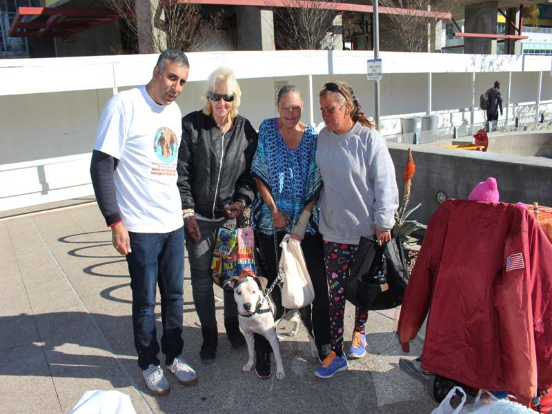 Homeless Women of San Diego California