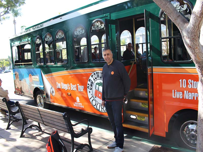 Trolley of San Diego ,California